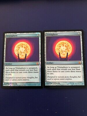 MTG - Trinisphere x 2 - From the Vault: Exiled - FOIL ( 2 cards)