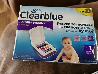 Clearblue Advanced Fertility Monitor Excellent Condition 💜