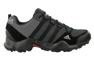 Adidas Mens Shoes Terrex AX2 Outdoor Hiking Shoes Grey Traxion Men Carbon Gray