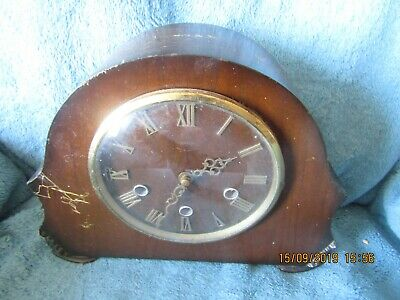 Smiths 8 day Westminster chime clock in good working order