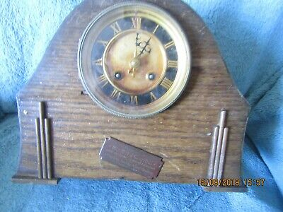 1900 clock French ? movement retirement presented clock Reading link