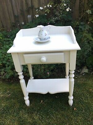 Shabby Chic Pine Wash Stand, Dressing Table, Desk