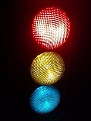 ".12"" LED Traffic Stops Light Signal Set of 3 Red Yellow & Green Gaskets 120V .."