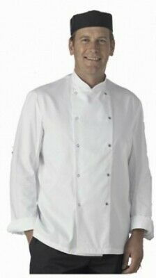"""""""Catering Clobber"""" Lightweight Chefs White Coat Sixe XL - LAST ONE"""