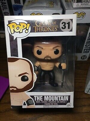 The Mountain Gregor Clegane Game Of Thrones Funko Pop 31