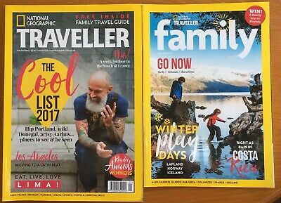 National Geographic Traveller Magazine Jan/Feb 2017 The Cool List To Visit 2017