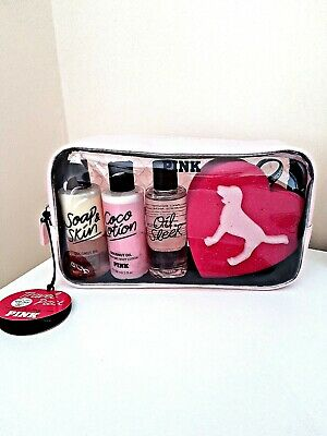 Victoria's secret Pink Coconut Oil Body Care Travel Pack Kit