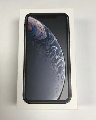 Brand New Apple iPhone XR 64GB Black (AT&T, Cricket) A1984 Clean imei