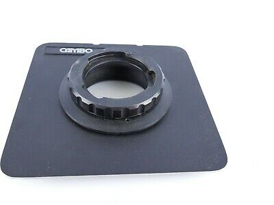 Cambo Large Format 5X4 5X4  Metal Lens Board  160Mm X 160Mm S25