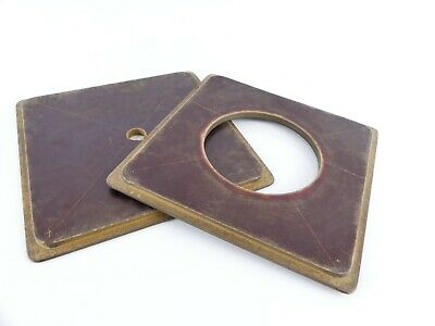 160 X 160Mm Large Format Wooden  Lens Board Set S21
