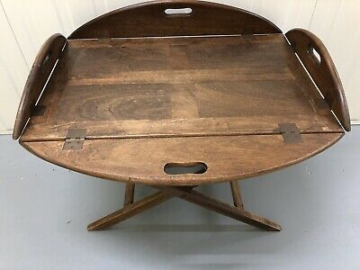 A Late Victorian Butlers Tray Table