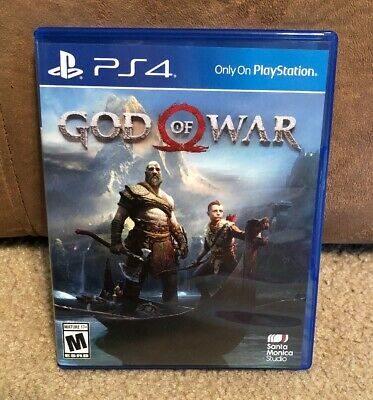God of War PlayStation 4 PS4 Great Condition Fast Shipping