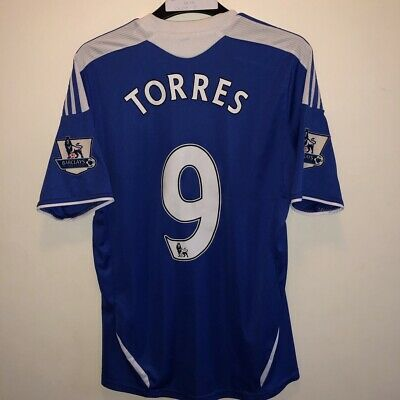 Chelsea Home Shirt 2011/12 Torres 9 Small