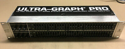 Behringer Ultra-Graph Pro GEQ3102 31-Band Stereo Equalizer kaum genutzt!