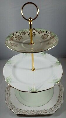 Vintage 3 Tier Cake Stand ideal for High Teas, Weddings & Parties