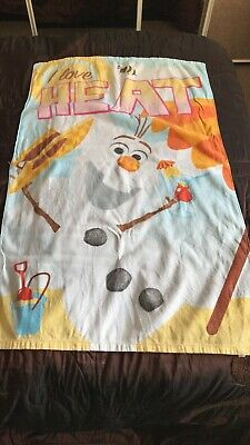 Disney Frozen Towel X 2 And Face Cloths X 2 Olaf Elsa