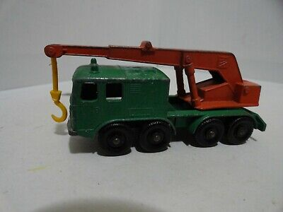 @@ RARE Lesney Matchbox No.30   8 WHEEL CRANE!!!! @@
