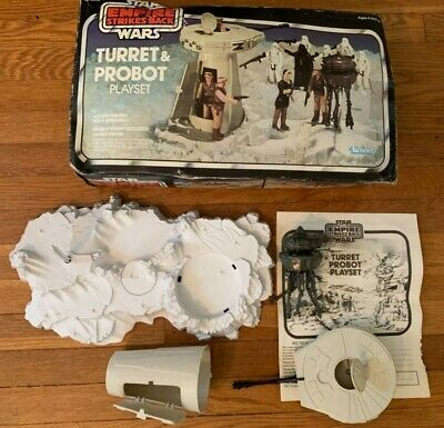 Vintage Star Wars Turret & Probot Playset Complete W/ Original Box Kenner 1980