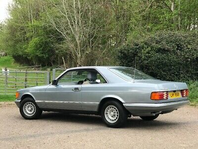 Mercedes SEC 380. Low mileage. Rare colour & early model.