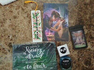 The Wicked King Owlcrate Items (pouch+print+tea+bookmark+necklace+soap)