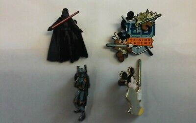 4 Star Wars Theme Disney Pins - lot #1