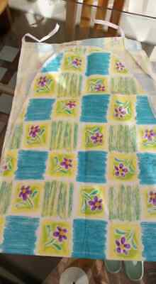 Ironing Board Cover Large Teal Yellow Multi Floral BNWT