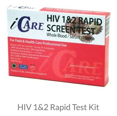 HIV 1&2 Rapid Test Kit -Test easily and privately for HIV