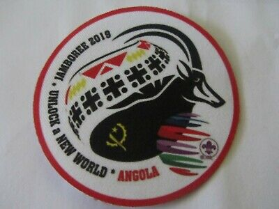 24th World Scout Jamboree 2019 Angola Contingent Patch Badge