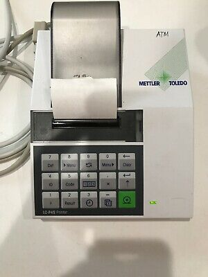 Mettler Toledo LC-P45 Printer Choose Your Cable, Working Great for Balance Scale