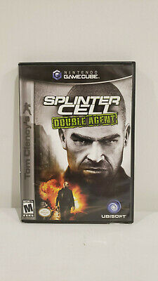 *USED* Nintendo Gamecube Tom Clancy's Splinter Cell Double Agent Game *USED*