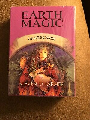 Earth Magic Oracle Cards : A 48-card Deck and Guidebook By Steven D. Farmer