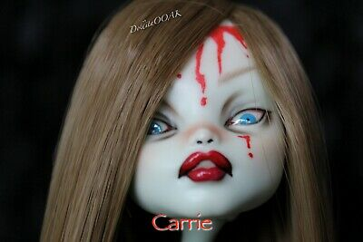 CUSTOM REPAINT OOAK ART DOLL Carrie Monster high
