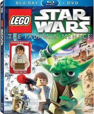 LEGO Star Wars: The Padawan Menace Blu-ray & Standard DVD Combo Pack with Young