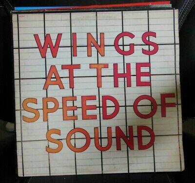 PAUL McCARTNEY and WINGS LP At the speed of sound 1976 Capitol