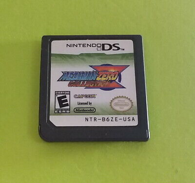 Mega Man Zero Collection (Nintendo DS, 2010) [game cartridge only] [authentic]