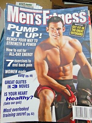Men's Fitness May 1997- Physique Magazine-Russel Brown