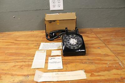 Vintage 1970 Western Electric Bell System BLACK Rotary Dial AT&T MODEL 500 SM G2