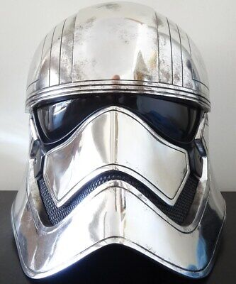 Anovos Star Wars Tfa First Order Captain Phasma Stormtrooper Helmet Mask Bust