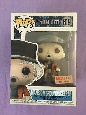 Funko Pop! Groundskeeper Haunted Mansion #619 Box Lunch Exclusive