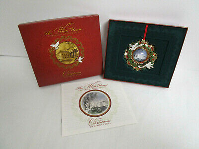 2013 The White House Historical Association Christmas Tree Ornament