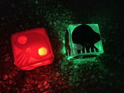 Disney Nightmare Before Christmas Oogie Boogie Light Up Dice Drink Glow Cubes