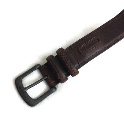 CM5 Mens Real Genuine Leather Tan Brown Belt 1.25 Wide S-L Thick Casual Jeans