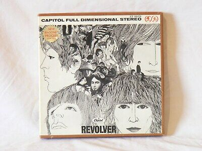 Beatles Revolver reel to reel tape excellent audio & excellent physical cond