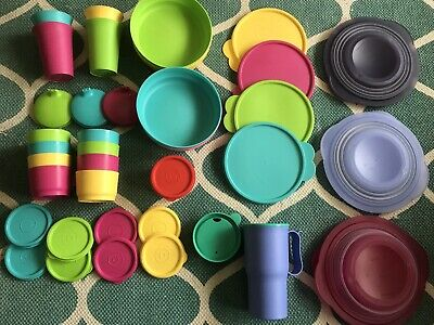 Tupperware Items Includes Bowls, Colappse Bowks Small Containers Cups