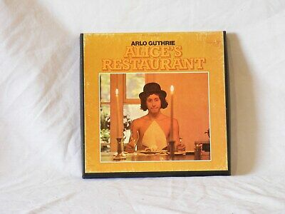 Arlo Guthrie reel to reel tape Excellent  audio & Very Good + cover cond