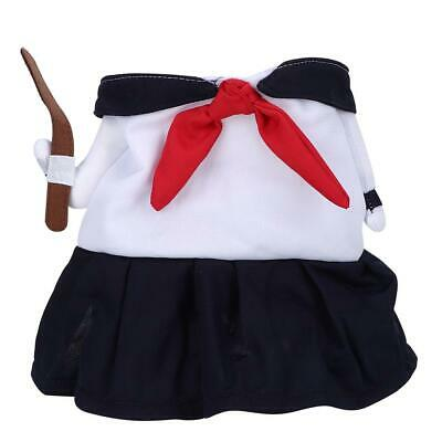 1 * Funny Female Student Upright Pet Costume Halloween Party Cosplay Clothes