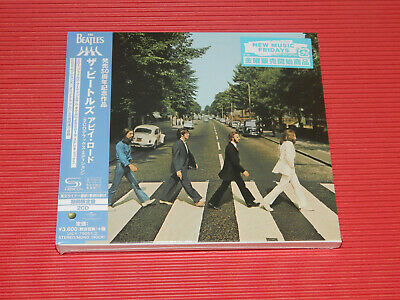 2019 The Beatles Abbey Road Anniversary Japan 2 Shm Cd Deluxe Edition