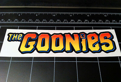 The Goonies 1985 movie logo style vinyl decal / sticker 1980's pirate treasure