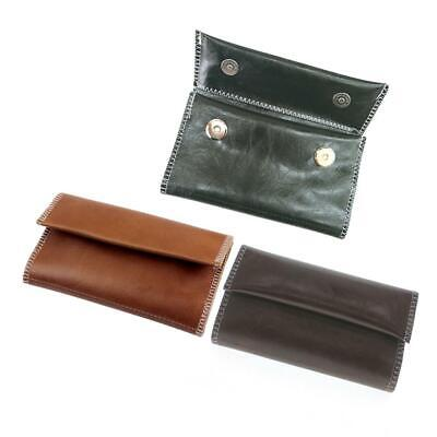 Leather Cigarette Tobacco Pouch Bag Case Rolling Paper Pipe Wallet Holder Gift