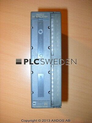 Siemens 6ES7 322-1HH00-0AA0, Used, 6ES73221HH000AA0, Fast Shipping